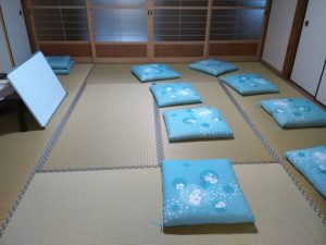 よもぎあん東洋医学講座蓬庵のセミナールームこと、治療室の横にある和室です。