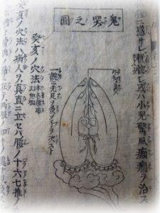 鬼哭(きこく)の図