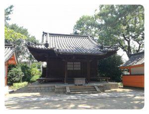 末社招魂社(旧護摩堂)