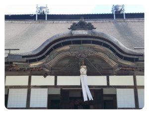 金剛峯寺では切子灯籠
