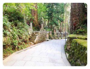 奥の院  高野山 参道の写真