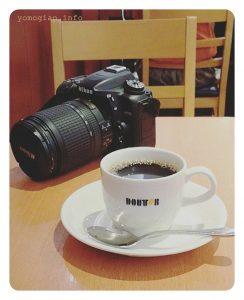 コーヒー カメラ ドトール