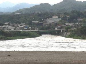 台風 紀の川
