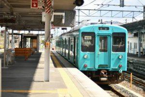 和歌山線 105系 橋本駅