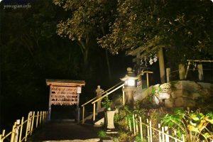 鎌八幡宮の夜
