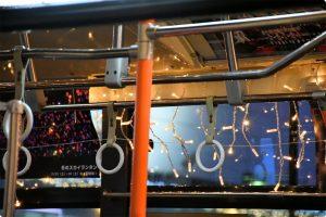 バスの写真、画像 クリスマス