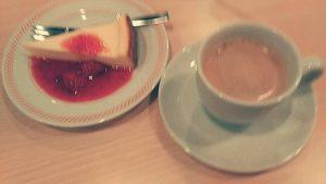 チーズケーキ コーヒー