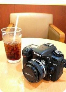 カメラ コーヒー