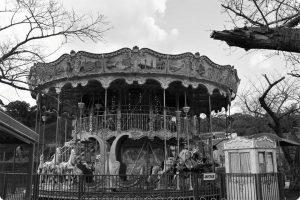 みさき公園の写真 メリーゴーランド