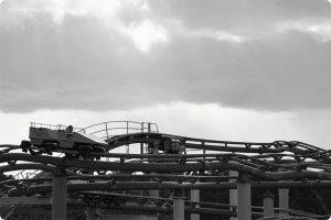 みさき公園の写真 ジェットコースター