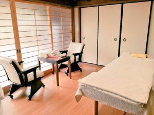 施術室 橋本市の鍼灸院