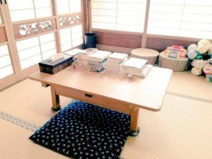 待合室 橋本市の鍼灸院