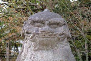 晴明神社の狛犬さん
