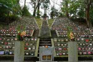 九本寺の千体石仏の写真 奈良県御所市
