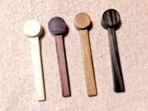 打鍼  木槌  ヒノキ 黒檀 ウリン