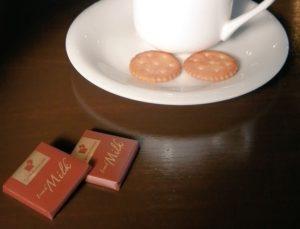 チョコレートをもらいました。