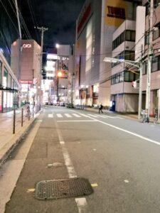 難波駅 閑散 緊急事態宣言による自粛