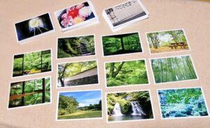 お礼状のポストカード
