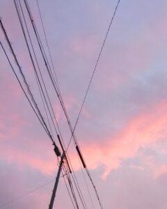 夕日 マジックアワー 黄昏時