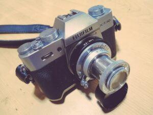 富士フイルムのXT30 INDUSTAR-22 50mm F3.5