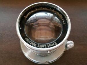 Summar 50mm f2.0 (Ernst Leitz Wetzlar)